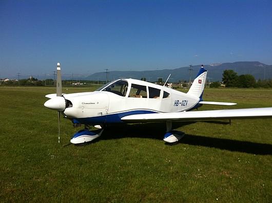 HB-OZV Piper Cherokee